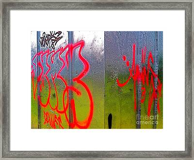 Paint Shed Framed Print