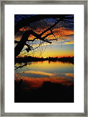 Paint The Sky Framed Print by Saija  Lehtonen