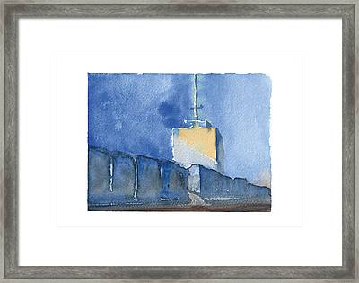 Paint The World...building Framed Print by Meagan Healy