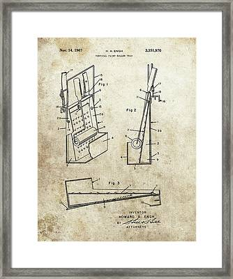 Paint Tray Patent Framed Print