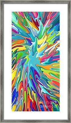 Paintball Framed Print by Chris Butler
