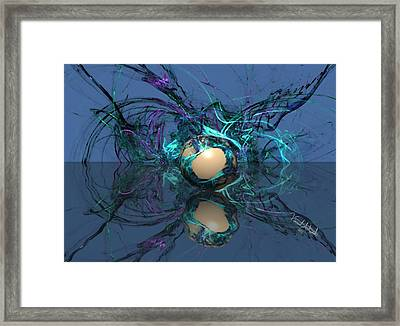 Losing It Framed Print