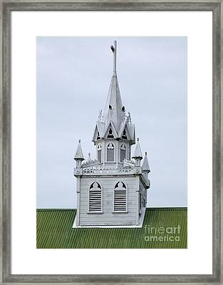 Painted Church 1 Framed Print by Randall Weidner