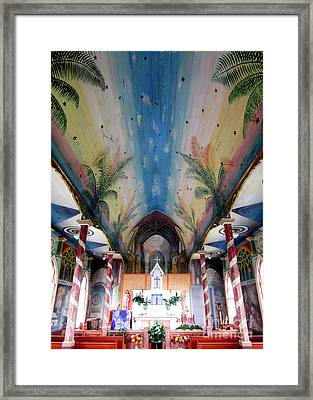 Painted Church 10 Framed Print