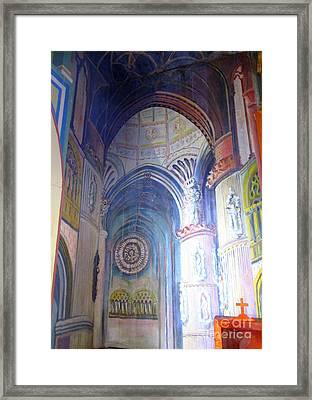 Painted Church 3 Framed Print
