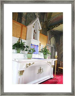 Painted Church 5 Framed Print