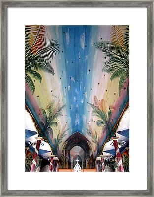 Painted Church 9 Framed Print