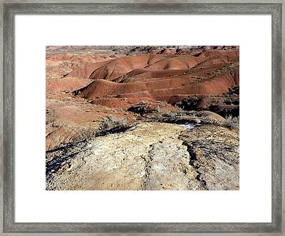Painted Desert 8 Framed Print by Patricia Bigelow