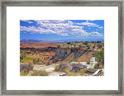 Painted Desert Of Utah Framed Print