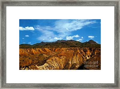 Painted Desert Framed Print by Ruth  Housley