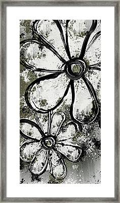 Painted Flowers 6 Framed Print