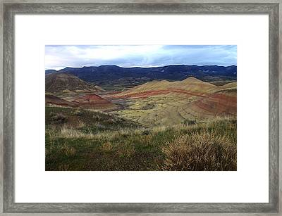 Painted Hills 1 Framed Print