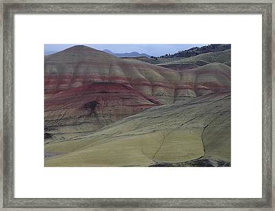 Painted Hills 3 Framed Print