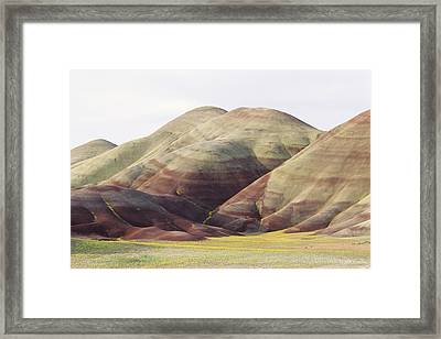 Painted Hills Framed Print by Greg Vaughn - Printscapes