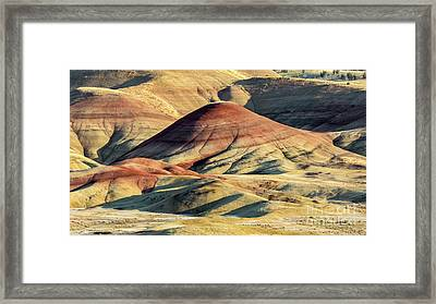 Painted Hills, Oregon Framed Print by Jerry Fornarotto