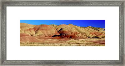 Painted Hills Pano Framed Print