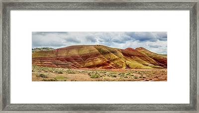Painted Hills Panorama 2 Framed Print