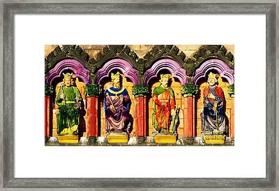 Painted Kings Framed Print