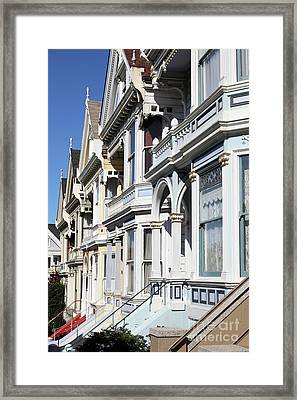 Painted Ladies Of Alamo Square San Francisco California 5d28021 Framed Print