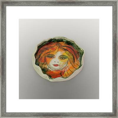 Framed Print featuring the photograph Painted Lady-1 by David Coblitz