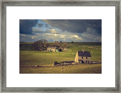 Painted Landscape Study No 2 Framed Print