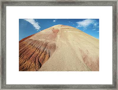 Framed Print featuring the photograph Painted Mound by Greg Nyquist