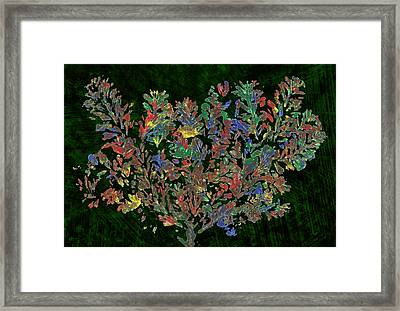 Framed Print featuring the painting Painted Nature 2 by Sami Tiainen