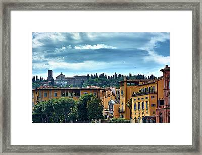 Painted On The Existence Framed Print