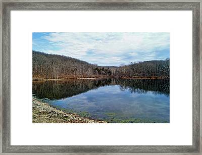 Framed Print featuring the photograph Painted Rock Conservation Area by Cricket Hackmann