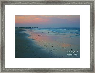 Painted Sand Framed Print by Alice Mainville