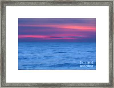 Painted Shores Framed Print by Marco Crupi