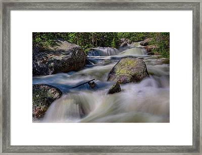 Painted Stream Framed Print by James BO Insogna