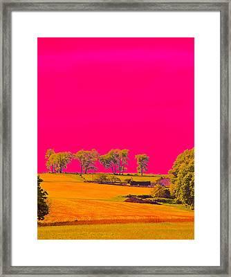 Painter Ridge Framed Print by Gillis Cone