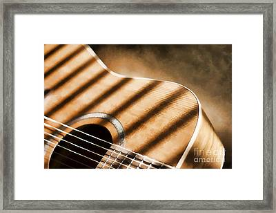 Painterly Acoustic 1 Framed Print