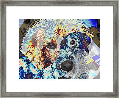 Painters Helper Framed Print