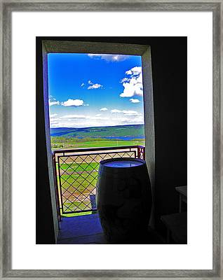Painter's Inspiration Framed Print by Elizabeth Hoskinson