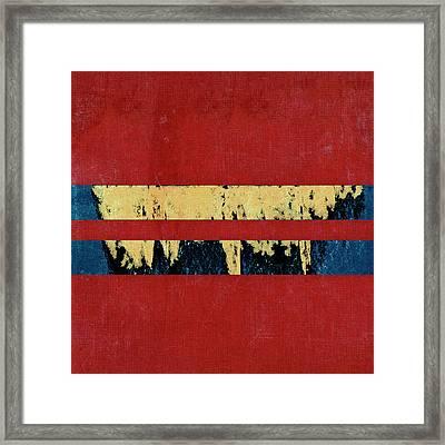 Painter's Tape Framed Print