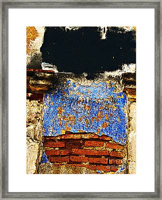 Painter's Wall By Darian Day Framed Print by Mexicolors Art Photography