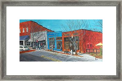 Paintin The Town Framed Print by Pete Maier