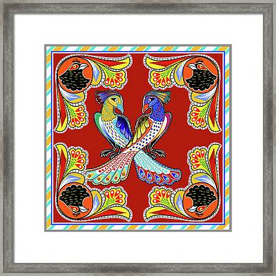 Painting 629 1 Truck Art 6 Framed Print by Mawra Tahreem