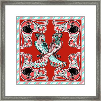 Painting 629 5 Truck Art 6 Framed Print by Mawra Tahreem