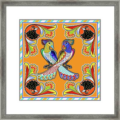 Painting 629 3 Truck Art 6 Framed Print by Mawra Tahreem
