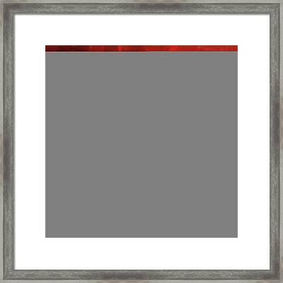Painting 715 4 Sufi Whirl I Framed Print