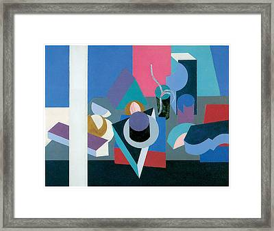 Painting Framed Print by Patrick Henry Bruce
