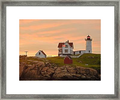 Painting The Skies Framed Print