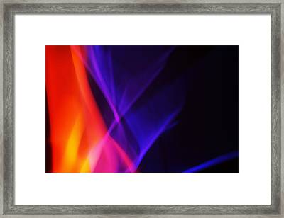 Painting With Light 3 Framed Print by Chris Rodenberg