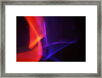 Painting With Light 4 Framed Print by Chris Rodenberg