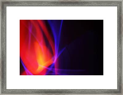 Painting With Light 5 Framed Print by Chris Rodenberg
