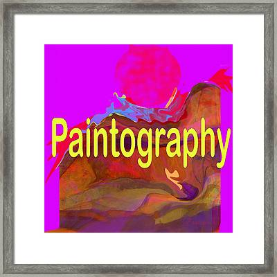 Paintography Framed Print