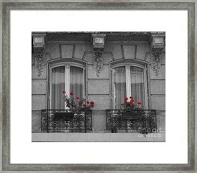 French Windows Framed Print by Juli Scalzi